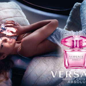 Versace Bright Crystal Absolu Poster