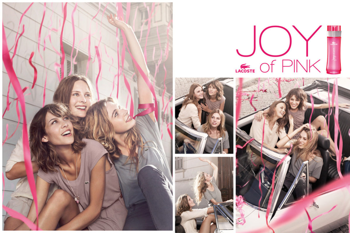 Lacoste Joy of Pink Poster