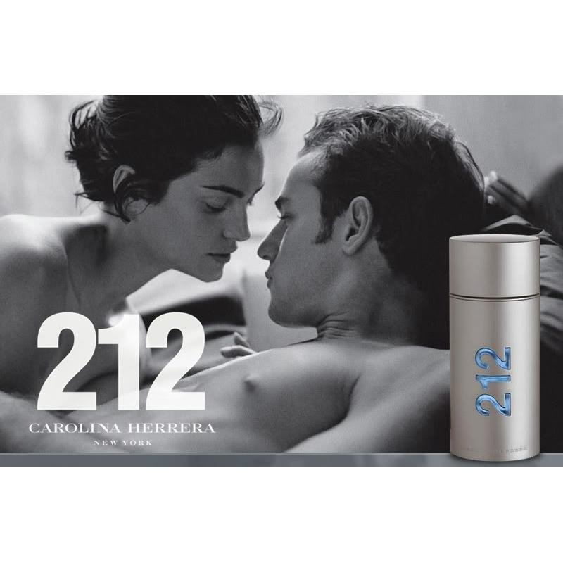 Carolina Herrera 212 Men NYC Poster