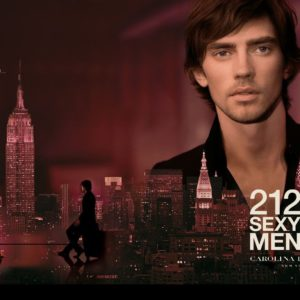 Carolina Herrera 212 Sexy Men Poster