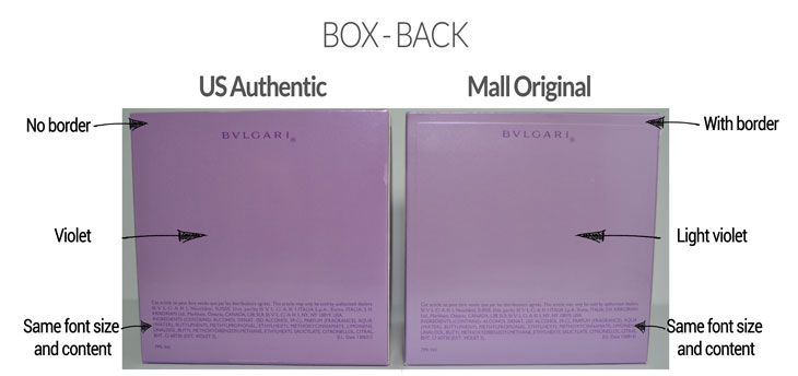 Bulgari Omnia Amethyst Box Back