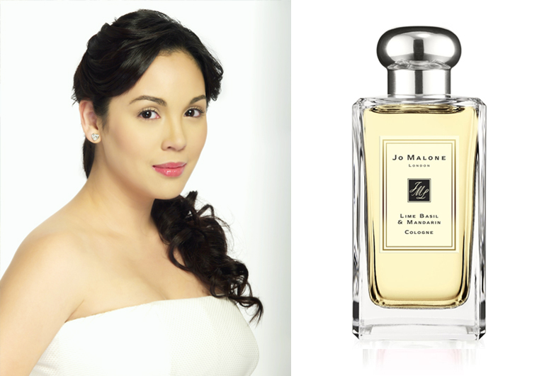 Claudine Barreto - Jo Malone Lime Basil and Mandarin