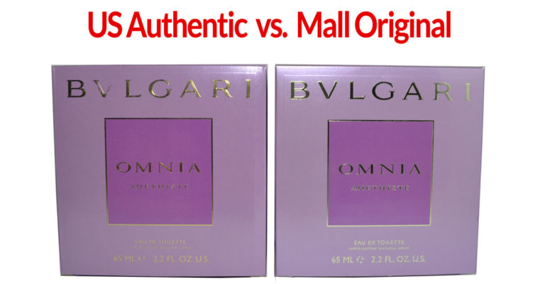 Comparison - Bulgari Omnia Amethyste