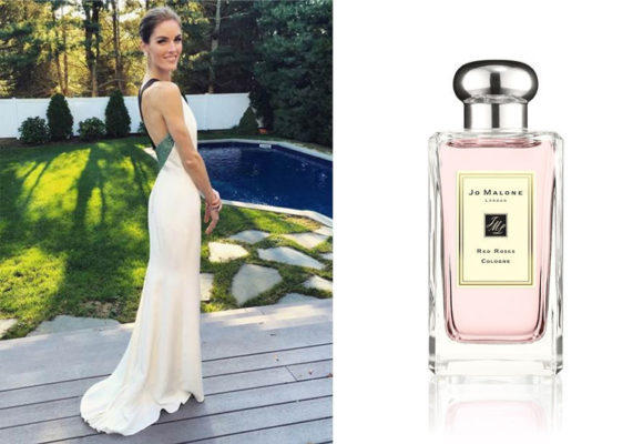 Hilary Rhoda Wedding - Jo Malone Red Roses