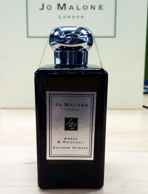 Jo Malone Amber and Patchouli Actual in the office