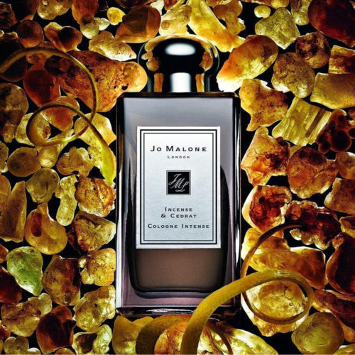 Jo Malone Incense and Cedrat Poster