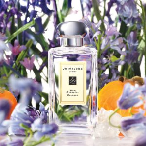 Jo Malone Wild Bluebell with background