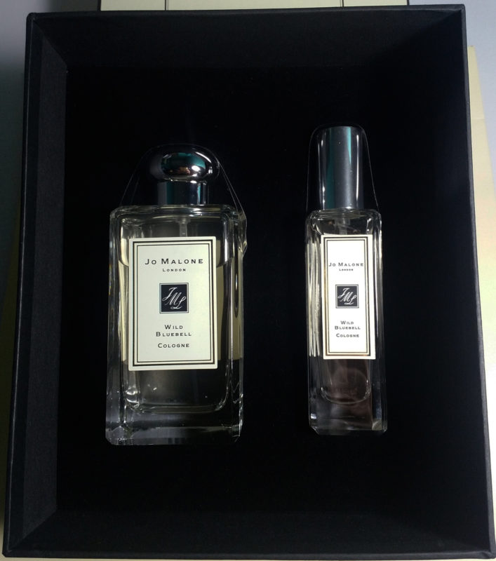 Jo Malone Wild Bluebell Set 100ml and 30ml Actual