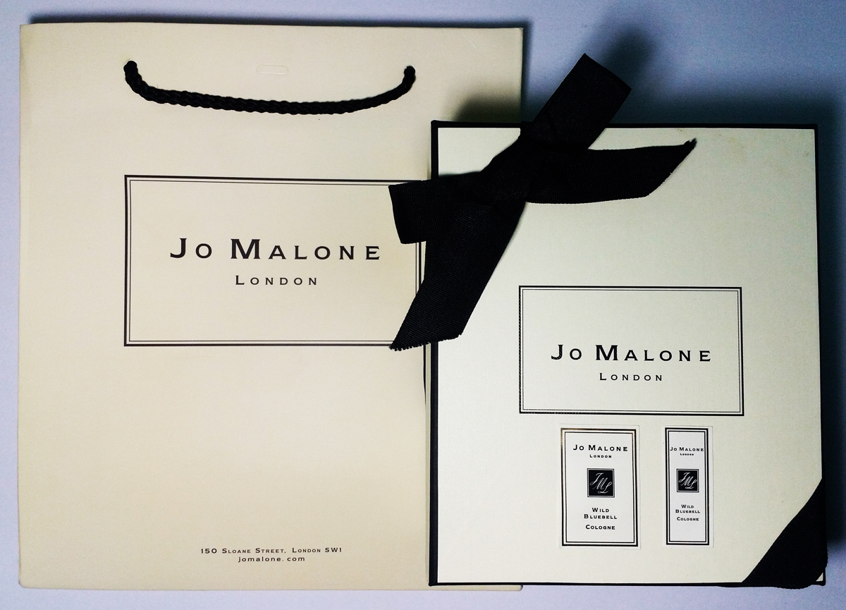 Jo Malone Wild Bluebell Set 100ml and 30ml Box Actual