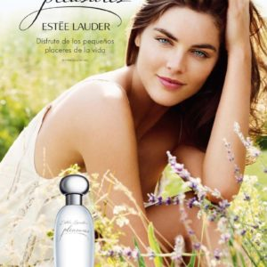 Estee Lauder Pleasures - Hilary Rhoda Poster