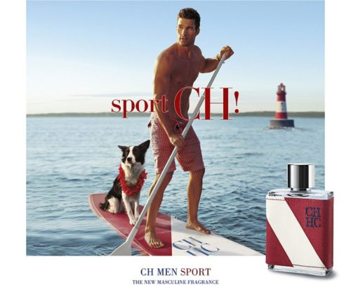 Carolina Herrera CH Men Sport Poster