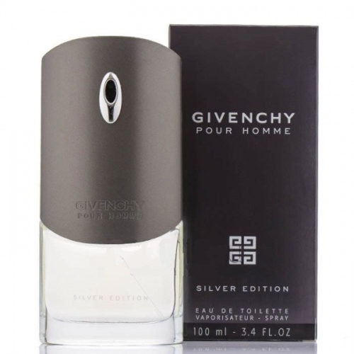 Givenchy Pour Homme Silver Edition 100ml with Box