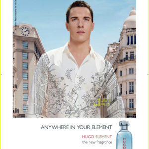 Hugo Boss Element Poster