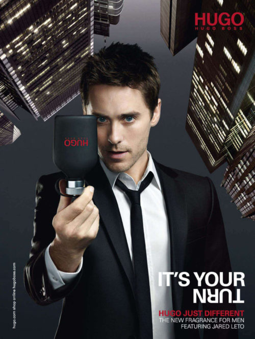 Hugo Boss Just Different Jared Leto Poster