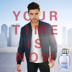 Hugo Boss Man Zac Efron Poster