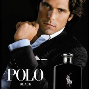 Ralph Lauren Polo Black Poster