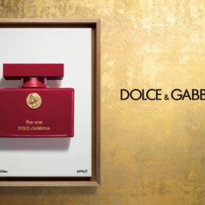 Dolce and Gabbana The One Collector's Edition Poster