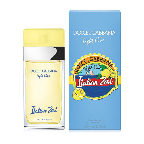 Dolce and Gabbana Light Blue Italian Zest 100ml with Box