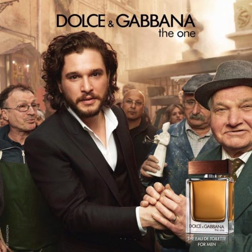 Kit Harington Dolce and Gabbana The One for Men Poster