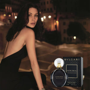 Bvlgari Goldea Roman Night Poster