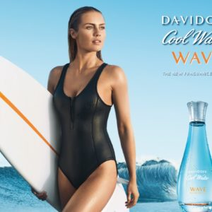 Davidoff Cool Water Woman Wave Poster