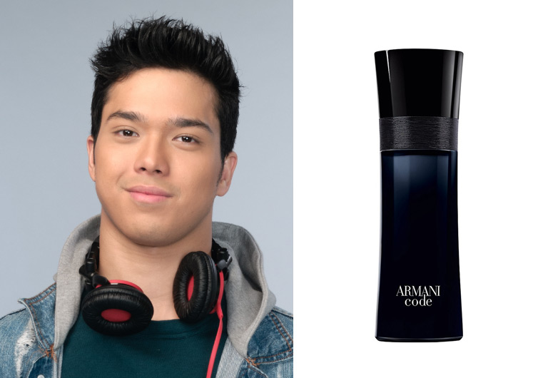 Elmo Magalona's Favorite Scent is Armani Code