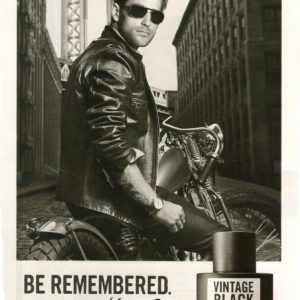 Kenneth Cole Vintage Black Poster