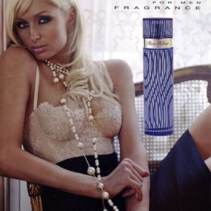 Paris Hilton Men Poster