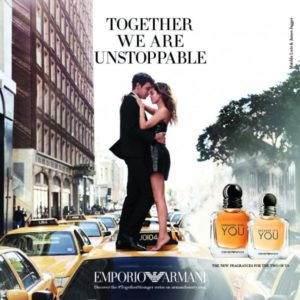 Emporio Armani Stronger with You Poster